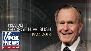 State funeral for George H.W. Bush at Capitol Rotunda