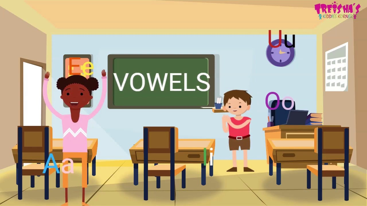 Download Long And Short Vowels For Kids: A E I O U - Learn English Grammar Kids Phonics Song