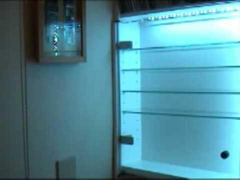 Illuminazione vetrina a led youtube
