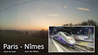 SNCF / Paris - Nimes, France. Part 1