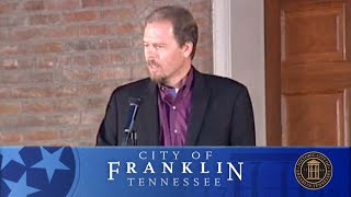 2012 Battle Of Franklin Commemorative Illumination Ceremony