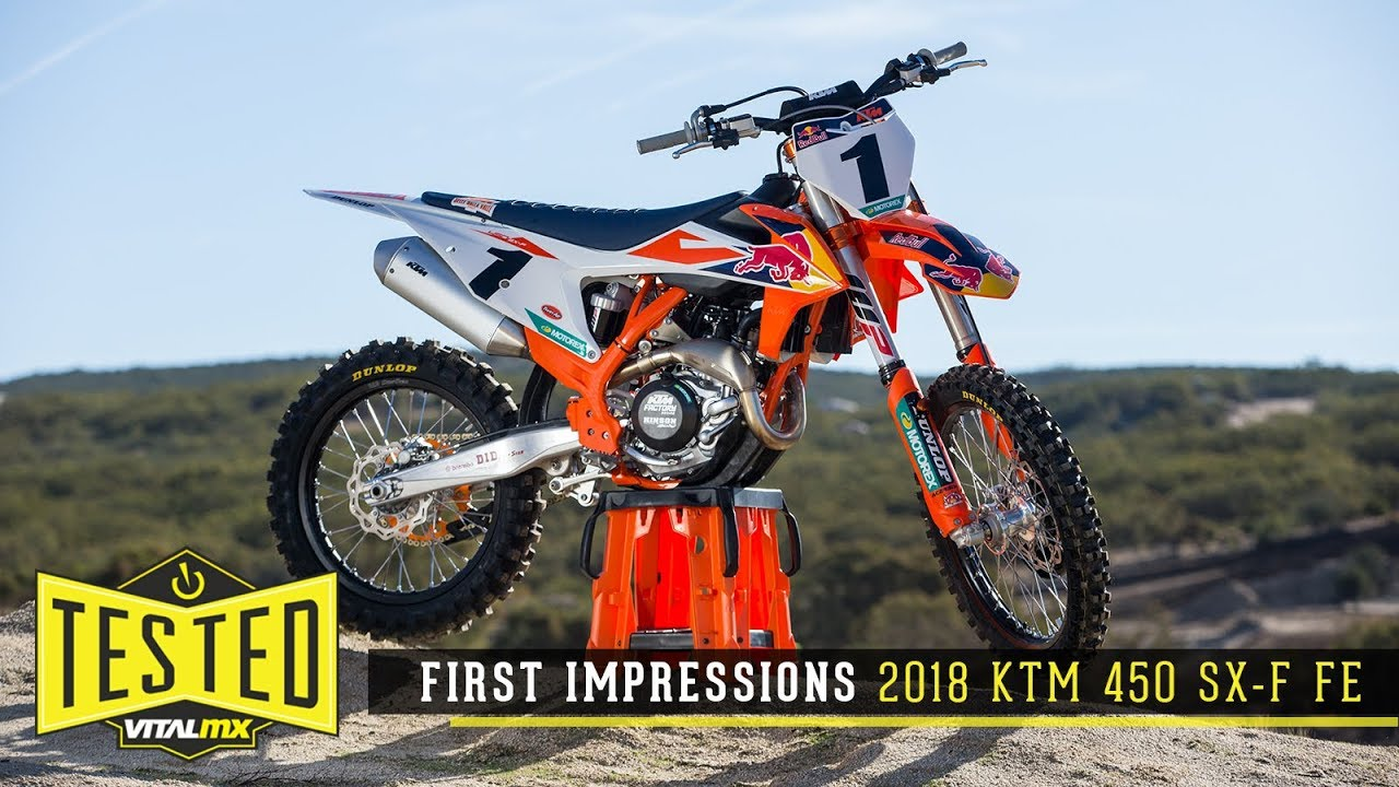 ktm 450 sx-f factory edition specs