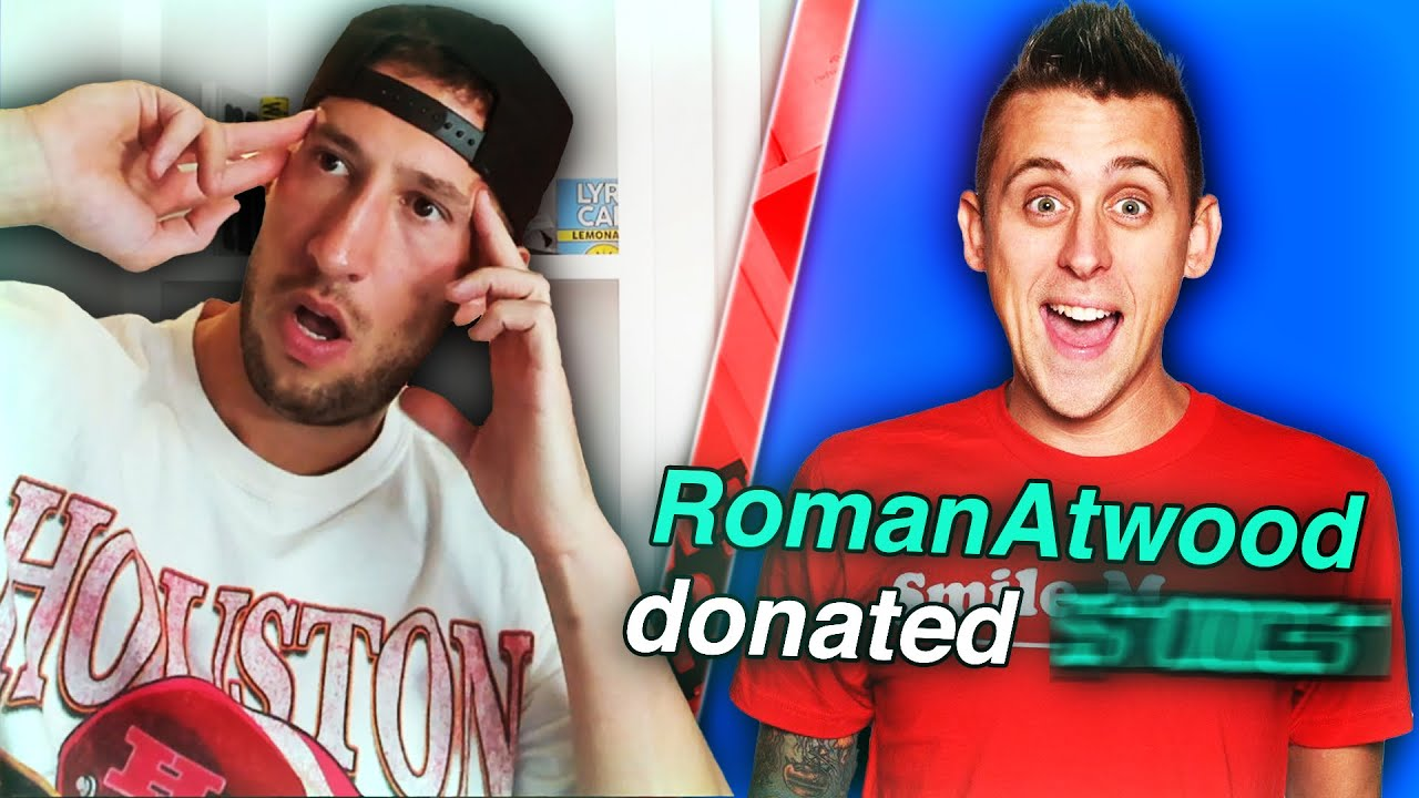 ROMAN ATWOOD CAME INTO MY STREAM AND DID THIS