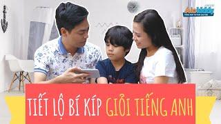 Tiết lộ lý do những đứa trẻ nhà MC Phan Anh giỏi tiếng Anh đến vậy! | Ba mẹ xem ngay!