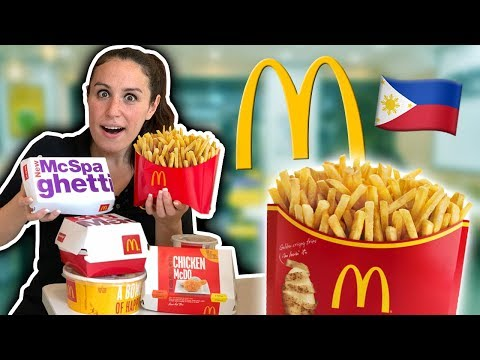 The MOST INCREDIBLE McDonald's in the Philippines 🇵🇭