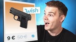 Pistole für 9€? Ich teste Gefährliche Wish Produkte!