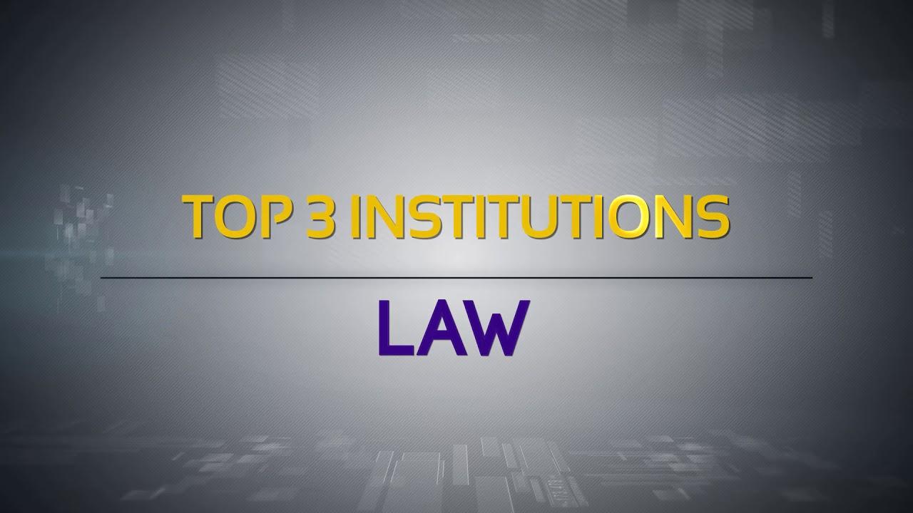 NIRF India Ranking 2018 - Law
