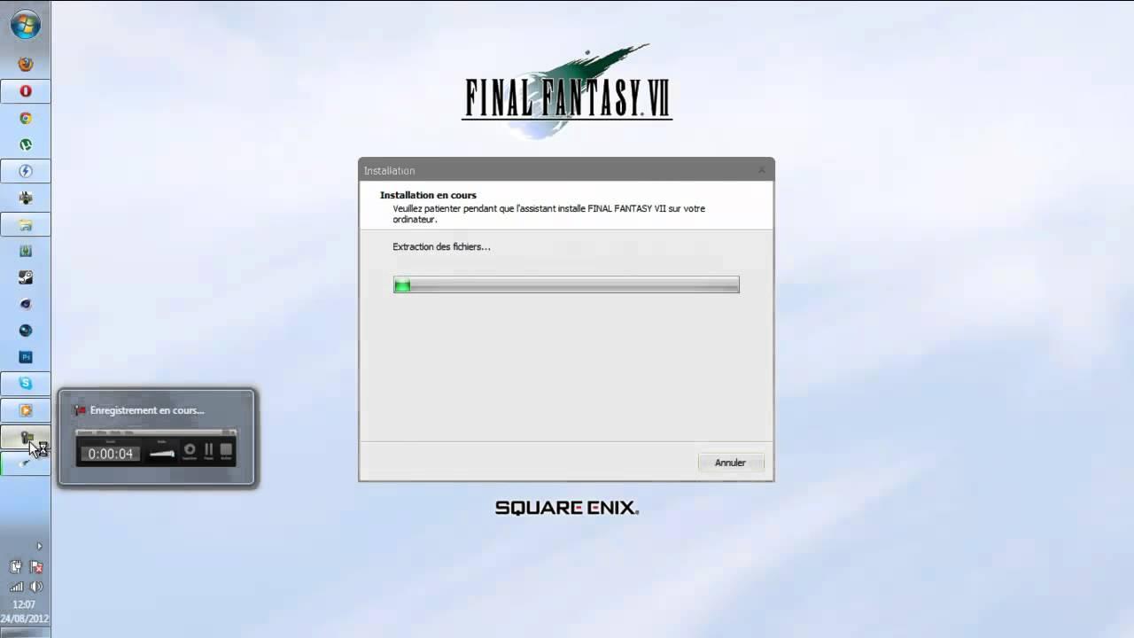 Final Fantasy 7 (PC) avec JeuxVideo.fr