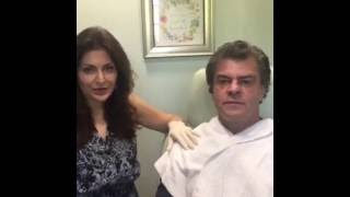 Dr. Vanden Bosch Performs Silhouette Instalift on Male Patient