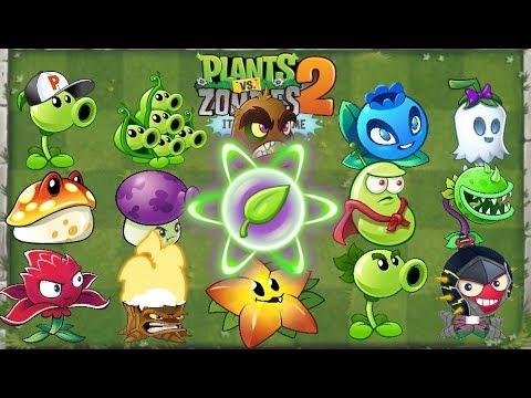 Plants vs Zombies 2 Every Plant Power UP vs Sunday Edition Zombie - PVZ 2 Gameplay