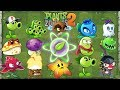Plants vs Zombies 2 Every Plant Power UP vs Sunday Edition Zombie - PVZ 2 Gameplay