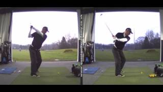 Fixing a steep backswing and transition - James Goddard