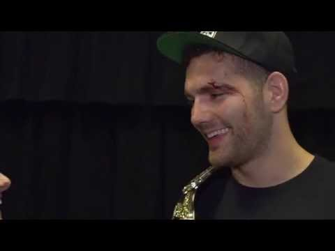 UFC 187: Chris Weidman Backstage Interview