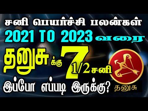 Dhanusu Rasi Sani Peyarchi Palangal   தனுசு ராசி சனிப்பெயர்ச்சி பலன்கள் 2021 To 2023   JJ Today