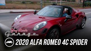 homepage tile video photo for 2020 Alfa Romeo 4C Spider 33 Tributo - Jay Leno's Garage