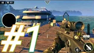 Sniper Ghost Warrior gameplay / walkthrough android / ios / iphone part 1 || Mgf
