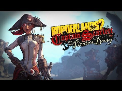 BORDERLANDS 2: Captain Scarlett And Her Pirate's Booty All Cutscenes (Game Movie) 1080p 60FPS