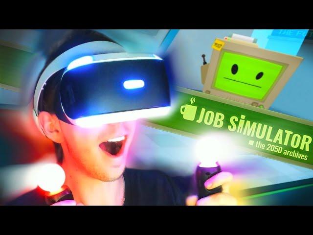 VIRTUAL REALITY SUPERMARKED? | Job Simulator (#1)