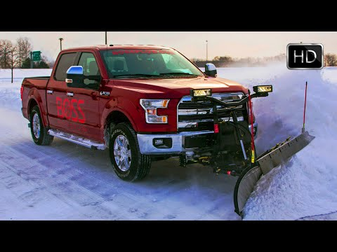 All-New 2015 Ford F-150 with Snow Plow Prep Kit HD
