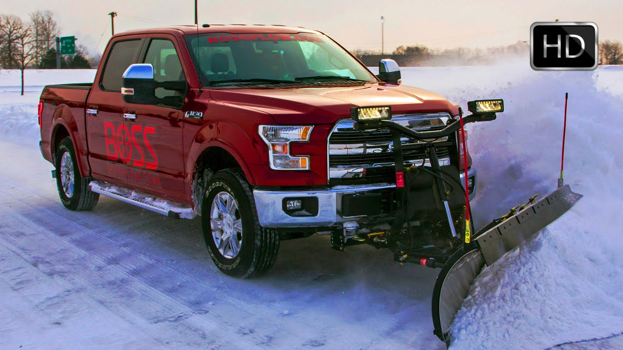 All New 2015 Ford F 150 With Snow Plow Prep Kit Hd Youtube