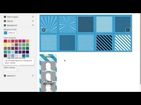 How To Create A Photo Booth Template In 2 Minutes - YouTube