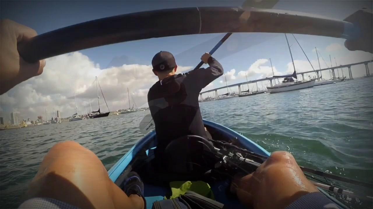 Kayak fishing coronado youtube for Youtube kayak fishing