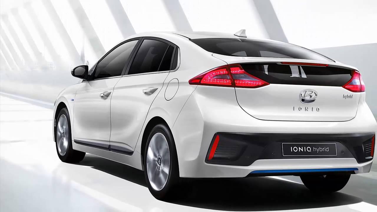 Hyundai Ioniq Ev Phev Hybrid First Released Youtube
