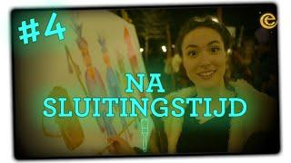 Teske de Schepper schildert Neon Nachtwacht in de Efteling - Na Sluitingstijd