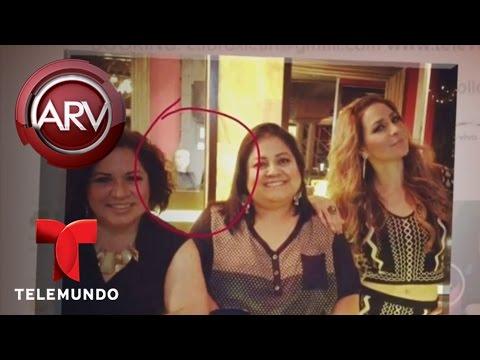 Ven fantasma de Jenni Rivera en foto de Cristina Eustace | Al Rojo Vivo | Telemundo