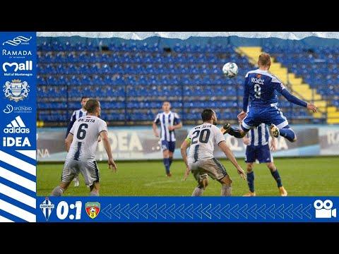 Budućnost Podgorica Zeta Golubovci Goals And Highlights