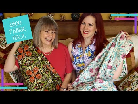 Festival of Quilts 2017 £600 Fabric Haul :: Vlog 27