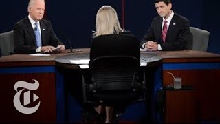 Election 2012 | Joe Biden and Paul Ryan Vice Presidential Debate Coverage | The New York Times