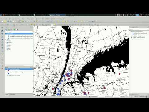QGIS: Geocoding