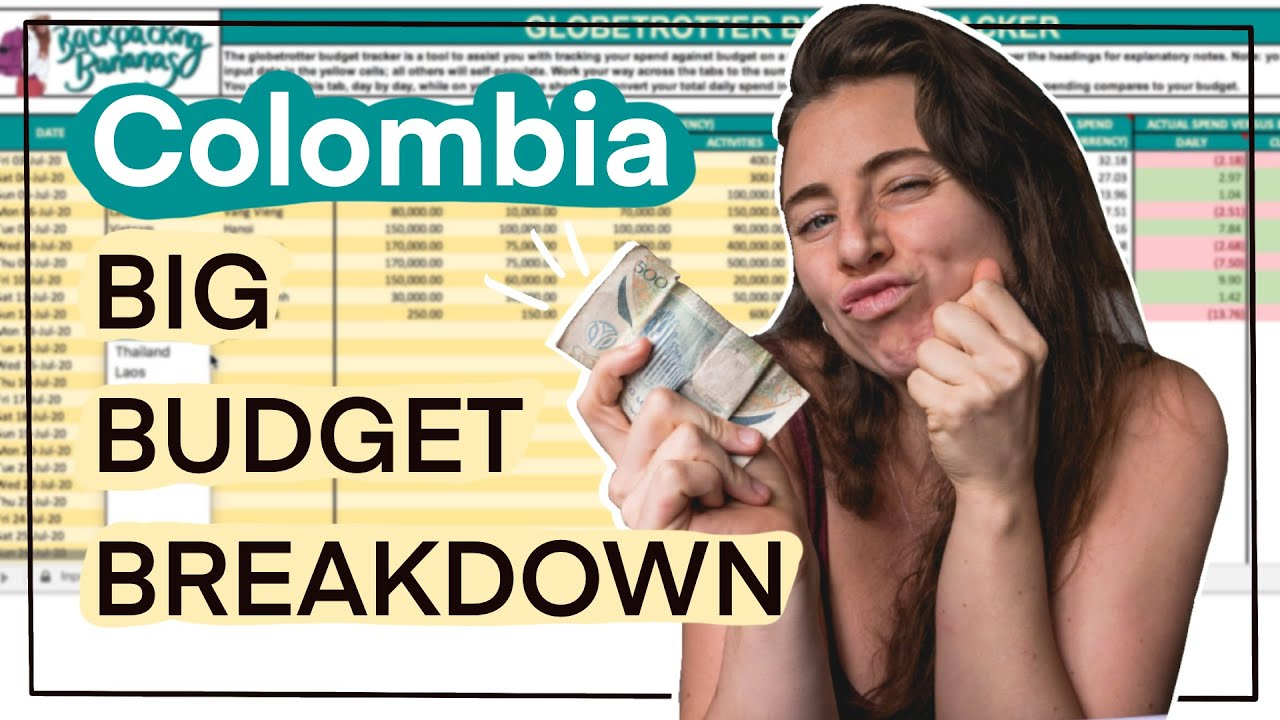 How Much Does it Cost to Travel Colombia?💰My Big Budget Breakdown