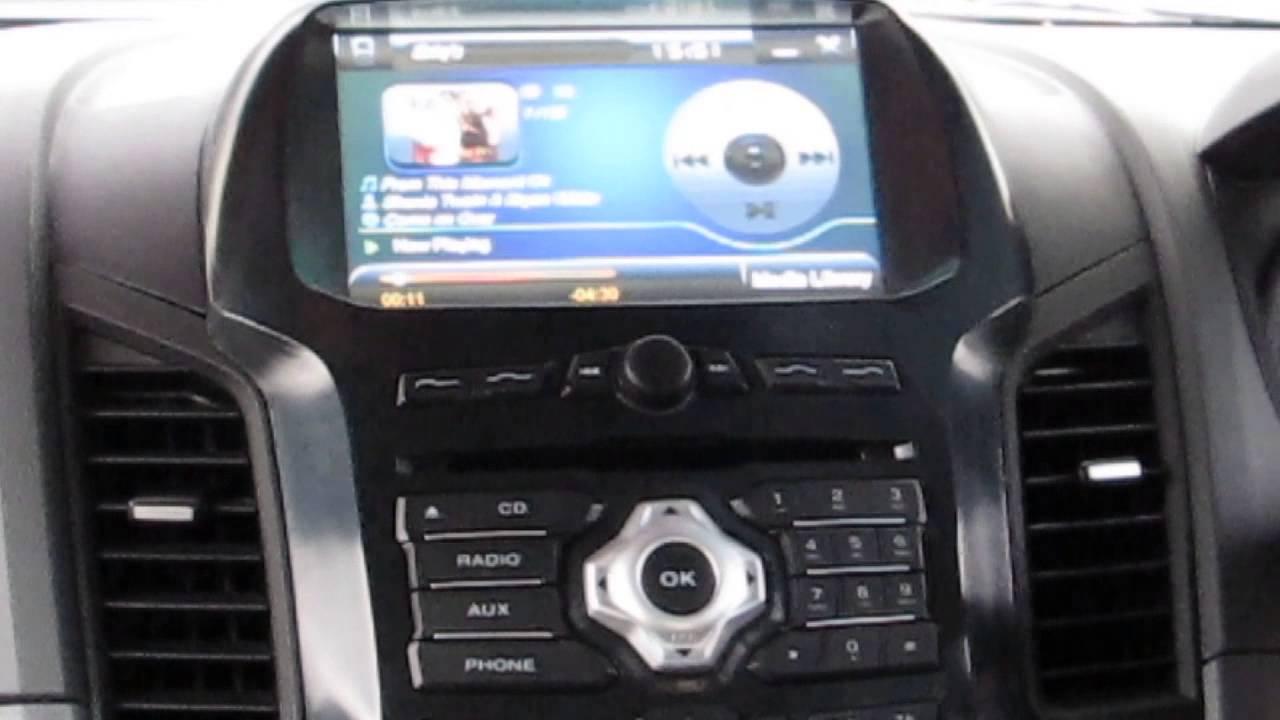 Multimedia Ford New Ranger 2013 Youtube