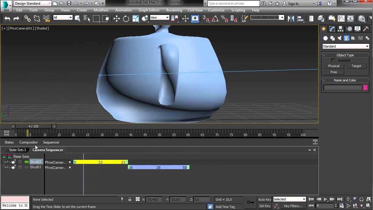 Обзор 3ds Max 2016