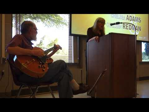 Chelsea and Bill Adams: Poetry Reading at New River Community College