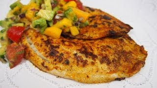 Filete de Pescado Dorado con Chile Paprika - Sencillo y Delicioso!