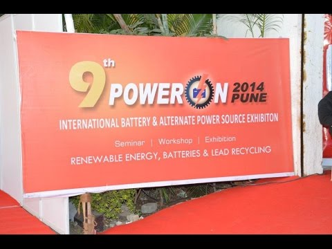 9th Poweron Battery fair Pune, Maharashtra 2014