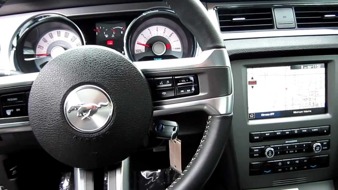 2011 Ford Mustang GT, Black   Stock# 33239A   Interior   YouTube Great Ideas