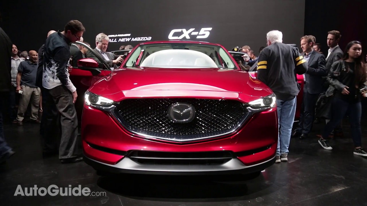 2017 Mazda CX-5 First Look - 2016 LA Auto Show - YouTube