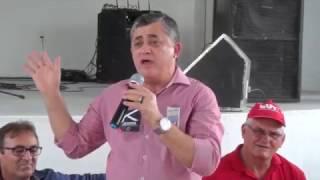 Deputado Guimarães na festa dos 50 anos do Sindicato dos Trabalhadores Rurais de São João do Jaguaribe
