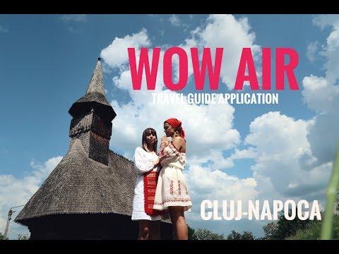 WOW AIR TRAVEL GUIDE APPLICATION - TRANSYLVANIA