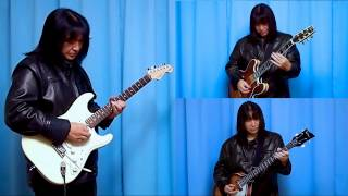 The Rolling Stones - Brown Sugar - guitar cover. Using open G tuning for cutting guitar. All electric & acoustic & bass guitar playing by myself. Rhythm track ...