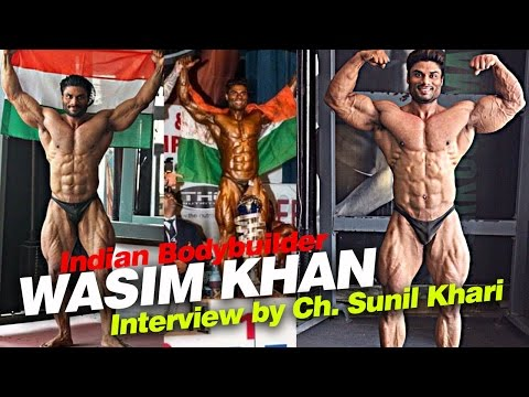 Wasim Khan (Mr India) Indian tiger at BodyPower India 2017 |  Interview By Ch. Sunil Khari