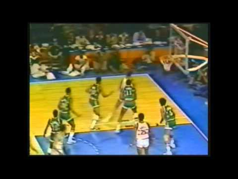 1977 NBA All-Star Game Highlights [without the 1st quarter]