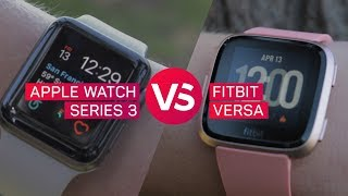 Apple Watch vs. Fitbit Versa