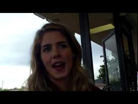 Emily Bett Rickards on Felicity and Barry Allen
