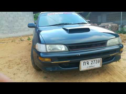 Toyota ae101 4efte 1300 turbo