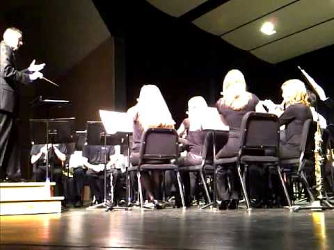 Portage Central High School Symphonic Band Concert 2011
